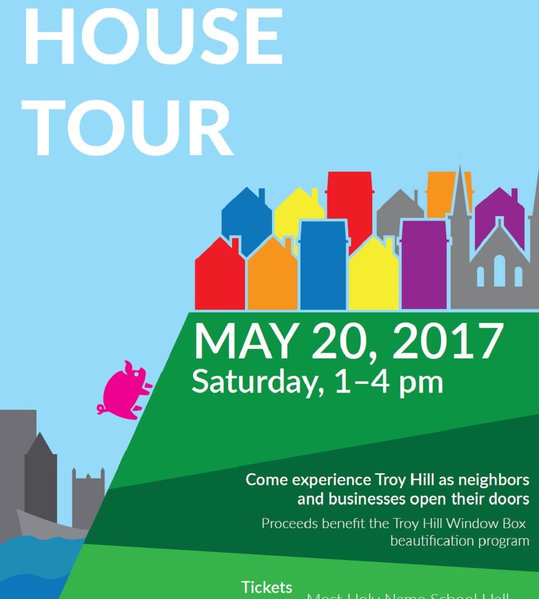 House Tour Ticket Flyer 2017