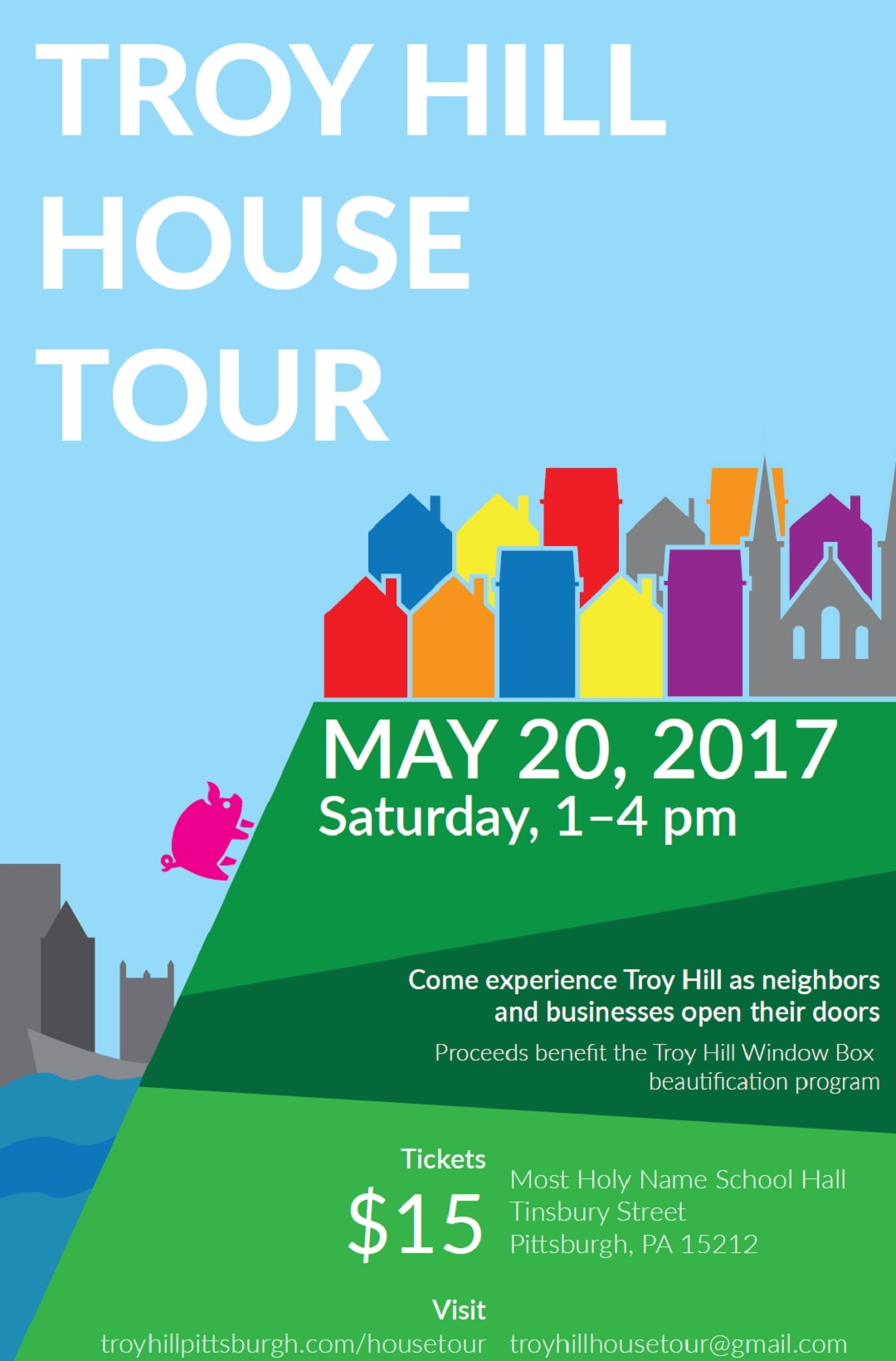 House Tour Ticket Flyer 2017