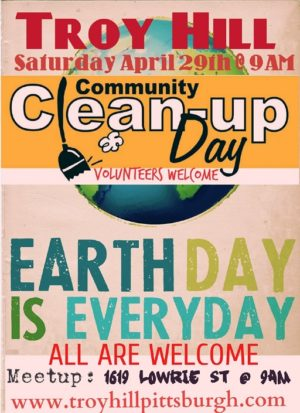 Community Cleanup Flyer April 2017